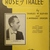 Rose of Tralee, Vintage sheet music, Collectible music, Antique sheet music,