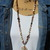 Amber Fawn New Long Beaded Necklace with Pendant by KnottedUp