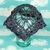 Purple Skull Shawlette