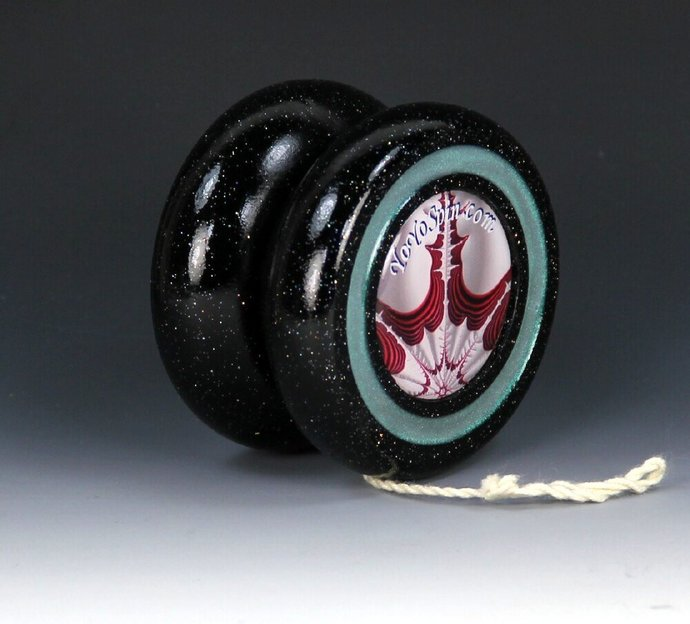 Handmade Butterfly Fixed Axle Yo-Yo with Fractals !