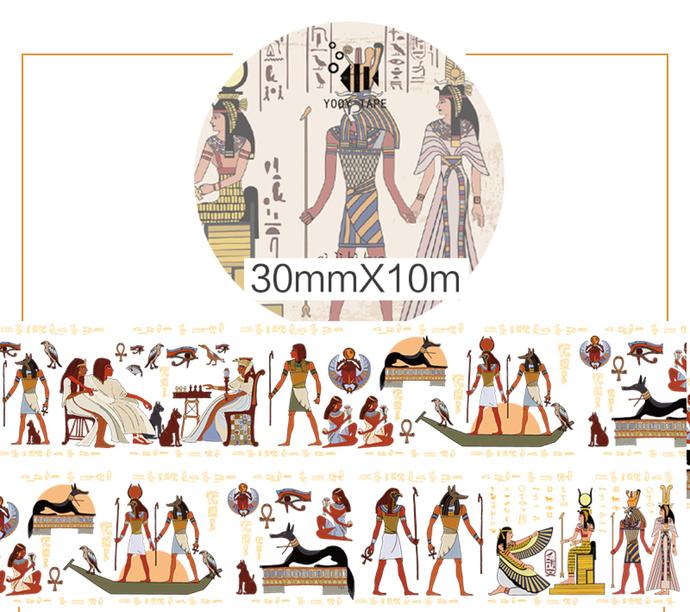 1 Roll Limited Edition Washi Tape: Egyptian Fresco