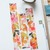Warm florals - 2 cm wide washi tape 10m - original design, perfect for