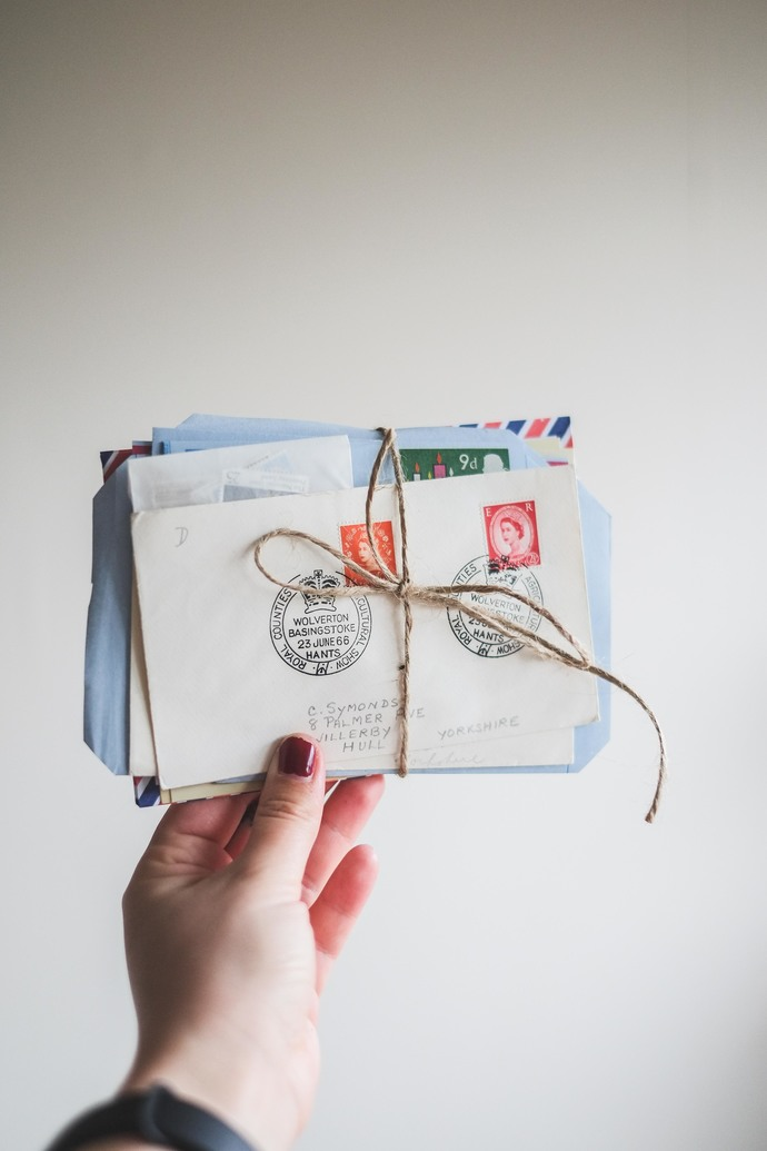 Vintage philatelic bundle - perfect for Travelers Notebook journaling,