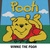 Winnie the Pooh Disney Cartoon Character crochet graphgan blanket pattern; c2c,