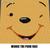 Winnie the Pooh Face Disney Cartoon crochet graphgan blanket pattern; c2c, cross