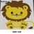 Baby Lion Jungle Animals crochet graphgan blanket pattern; c2c, cross stitch