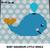 Baby Aquarium Turtle Fish Whale and Snail Little Aquatic Animals crochet