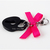 Heart and Lock Pet Collar Charm, Black, Hot Pink, Clip on, Cat Accessories, Pet