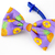 Pineapple Bowtie for Dogs, Cat Accessories, Lavender, Summer, Tropical Print,