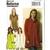 Butterick 6135 Misses Tunic Sewing Pattern UNCUT Size 4-6, 8-10. 12-14 Bust 19