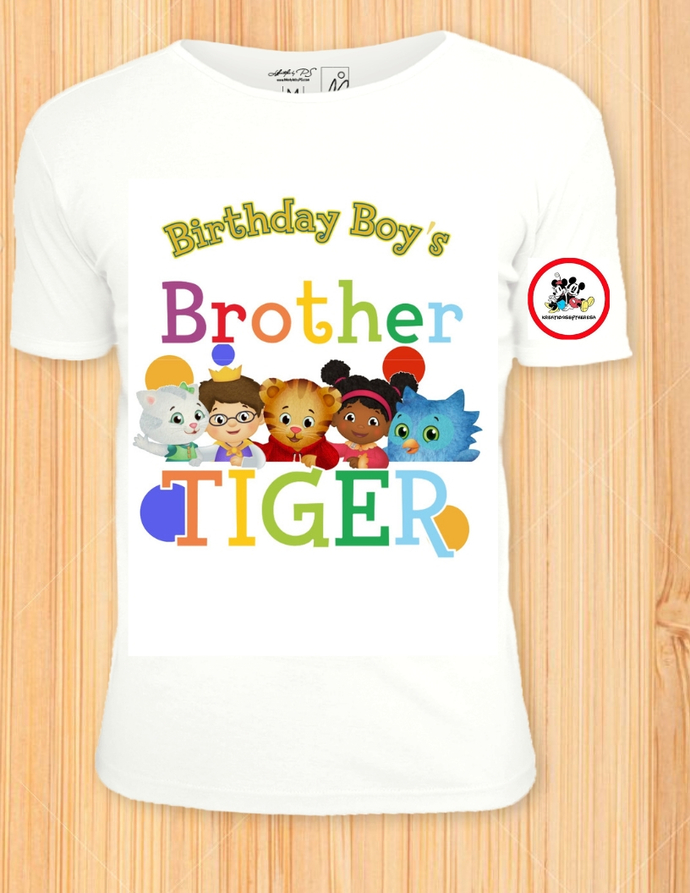 Daniel Tiger Inspired Brother Of The By Kreationsbytheresa On Zibbet