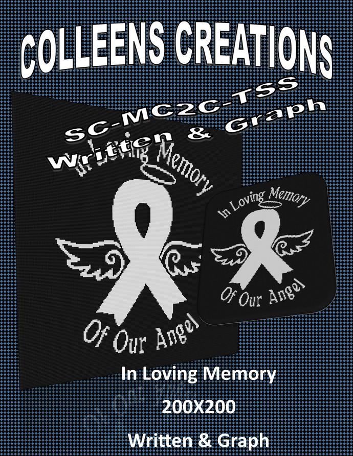 Loving Memory Crochet Written and Graph Design