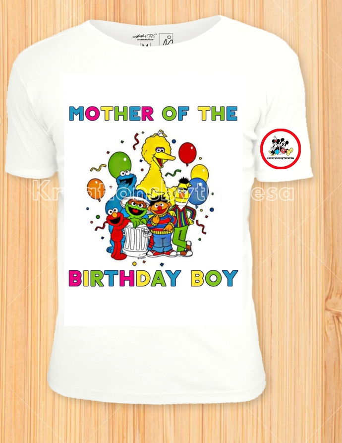 53ca4832 Sesame Street Shirts/Sesame Street Birthday/ Family Shirts/Mother Of The