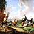 Fowl In A Landscape Cross Stitch Pattern - Instant Downloadable Digital Pattern