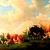 Cattle In A Meadow Cross Stitch Pattern - Instant Downloadable Digital Pattern