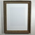16x20 recycled wood poster frame with 11x14 white mat