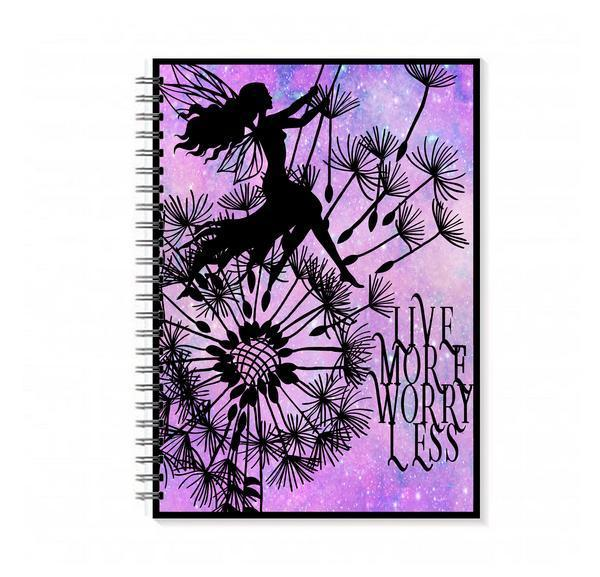 Live More Worry Less Notebook
