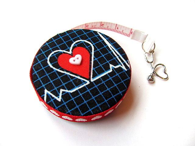 Tape Measure for Doctors and Nurses EKG Retractable Measuring Tape