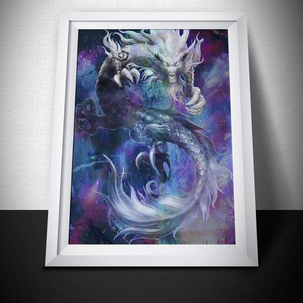 Mystical Dragon Art Print