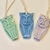 Set of three ceramic ornament /gift tags, Owl Handmade and Handpainted