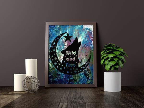 Wild And Free Handcut Papercut