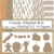 Candy Digital Kit-Digtial Paper-Cake-Cup-Gingerbread Man-Marshmallow-Art