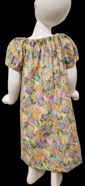 Easter Egg Peasant Dress