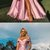 Rose Satin Off Shoulder Fashion Long Prom Dresses