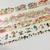SAMPLE: 5 Designs of Mushroom Theme Limited Edition Washi Tape (1m each)