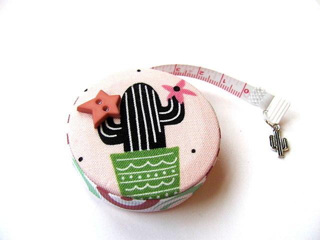 Retractable Measuring Tape Graphic Cactus Tape Measure