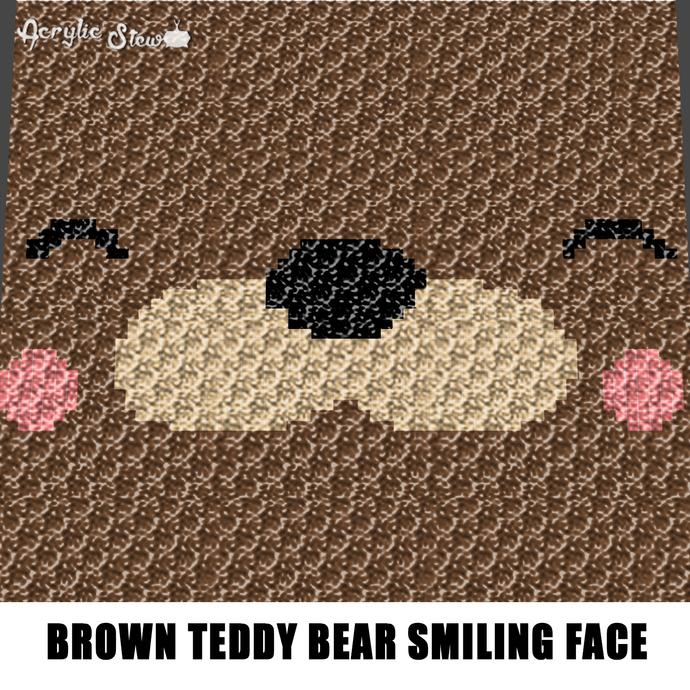 C2C Teddy Bear blanket | Crochet teddy, Crochet baby, C2c crochet | 690x690