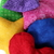 Rainbow Shapes Bean Bag Set (includes 6 different shapes) Triangle Circle Heart