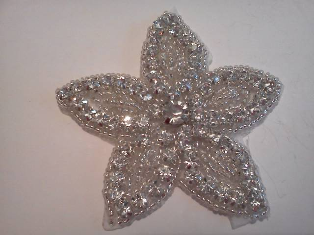 Rhinestone Floral Star*