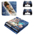 Kingdom Hearts PS4 slim Skin for PlayStation 4 slim Console & Controllers