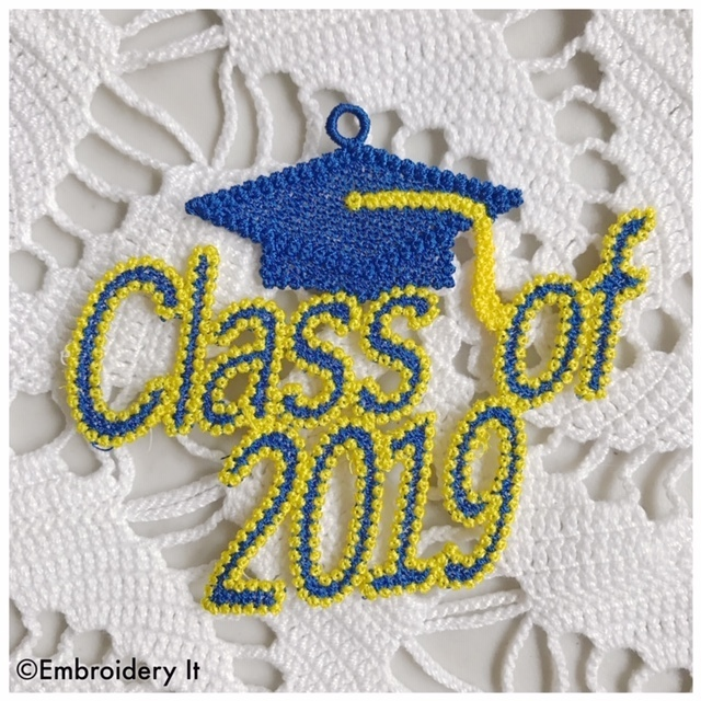 Free Standing Lace Class of 2019