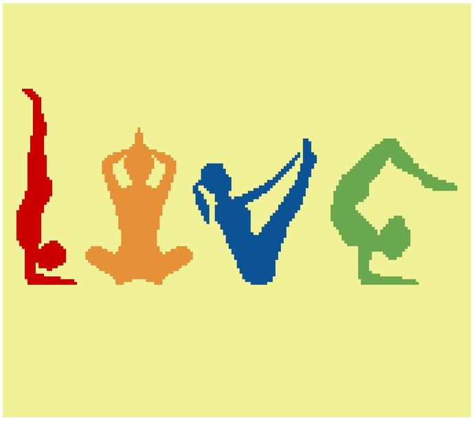 Yoga Love (Color)