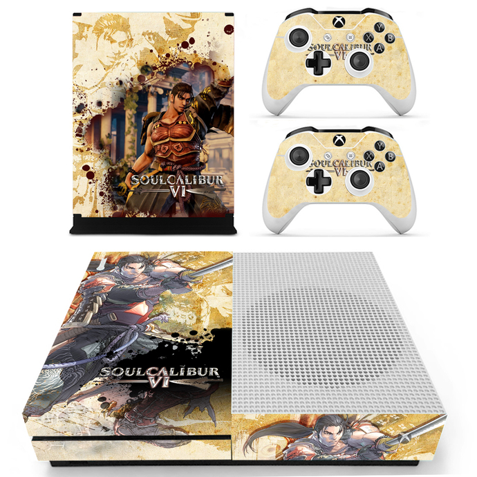 Soulcalibur 6 Xbox 1 S Skin for Xbox one S Console & Controllers