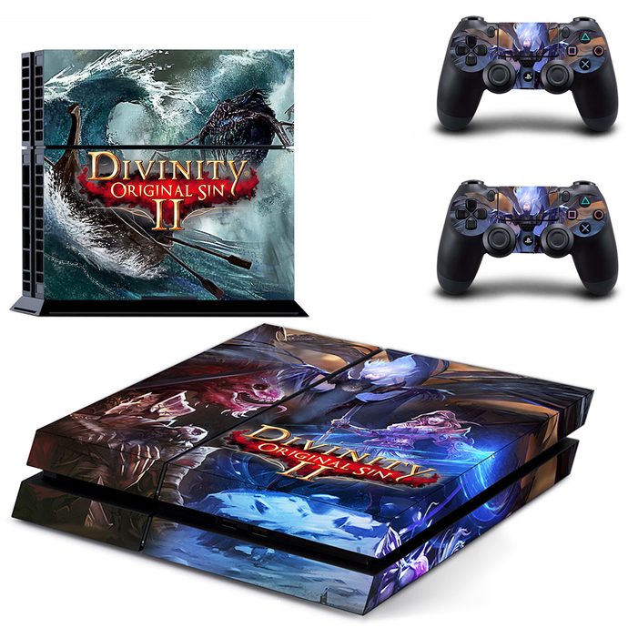 Divinity Original Sin 2 PS4  Skin for PlayStation 4 Console & Controllers