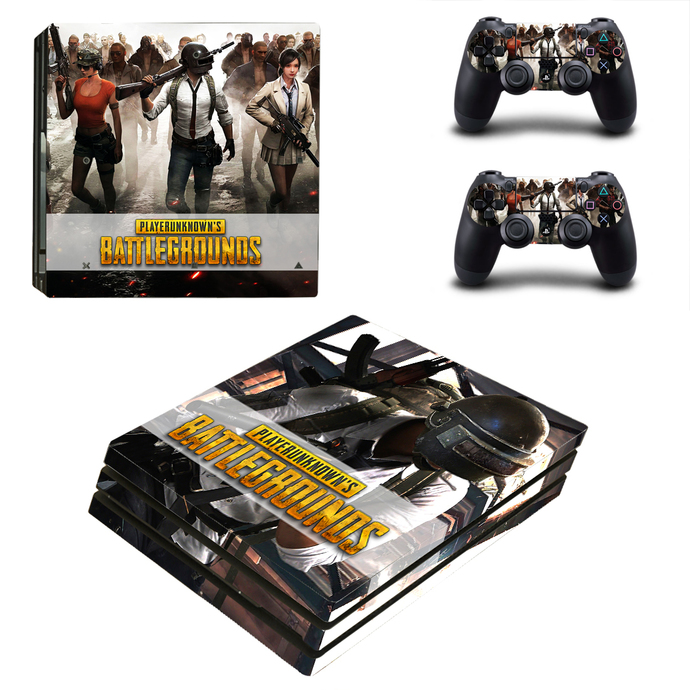 Playerunknown's Battlegrounds PS4 pro Skin for Playstation pro Console &