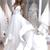Sexy V Neck A-line Spaghetti Strap Cheap Beach Long White Wedding Dress