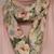 Infinity scarf, circle scarf, loop scarf, fashion scarf, pink yellow green