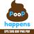 Poop Happens svg file, Cute svg, Funny svg, Poop svg, Emoticons Shit Happens
