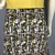 Classic Pink/Black/Gold Print Light Weight Jersey Fabric with Adjustable Tie