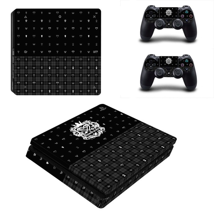 Kingdom Hearts 3 PS4 slim Skin for PlayStation 4 slim Console & Controllers