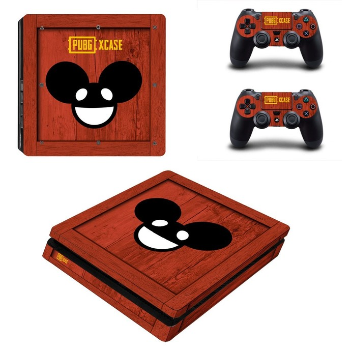 Playerunknown's Battlegrounds PS4 slim Skin for PlayStation 4 slim Console &