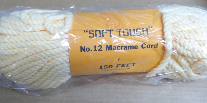 Macrame cord, Macrame yarn, Soft Touch yarn, Craft Supplies, Macrame Supplies,