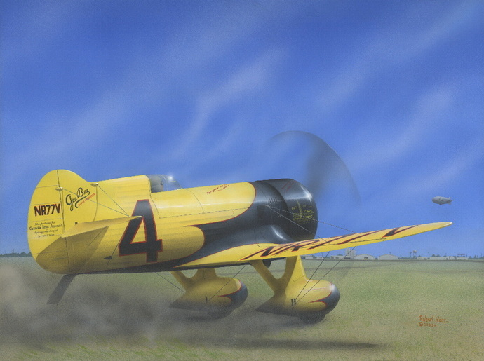 Gee Bee Z - Original Painting