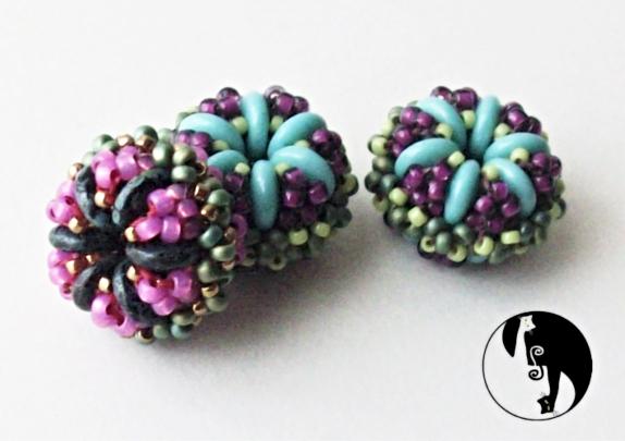Lerchin Beaded Bead Pattern by DatzKatz Designs