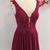 Beaded A Line Prom Dress, Burgundy Short Homecoming Dress, Graduation Dress for