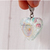 Seaside Treasures Sea Shell Resin Heart Charm, Charms for Pets, Zipper Pull,